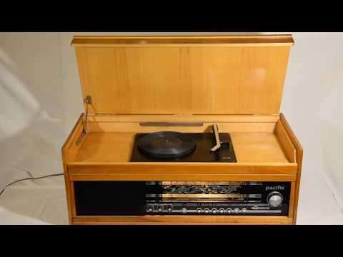SPRZEDAM SPRAWNE ORYGINALNE ZABYTKOWE FIRMOWE RADIO LAMPOWE Pacific + gramofon