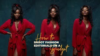 How to: Shoot Fashion Editorials on a Budget