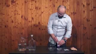 Кедровка на самогоне - простой рецепт!