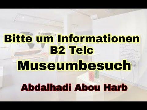 Bitte Um Information Telc B2 By Deutsch Global