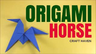Fun and Easy Origami Horse - Easy #Origami Animal Tutorial for Beginners - DIY Paper Horse