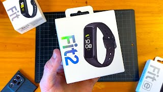 Samsung Galaxy Fit 2 (Black) Unboxing & First Impressions!