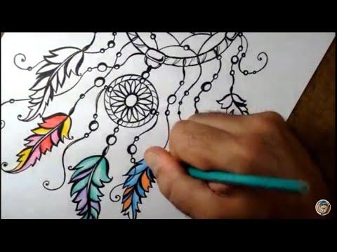 Como Desenhar Filtro Dos Sonhos Passo A Passo Youtube