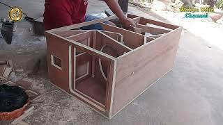 PROSES MEMBUAT BOX CLA 12 inch