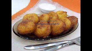 Хрустящие картофельные шарики - быстрая, простая и очень вкусная закуска