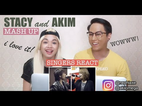 [SINGERS REACT] Akim and Stacy - Mewangi My Lifetime #MashUpHotFM