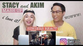[SINGERS REACT] Akim and Stacy - Mewangi My Lifetime #MashUpHotFM