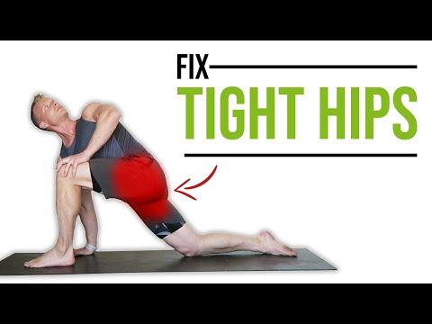 brad does yoga  men  women poses stretches  exercises