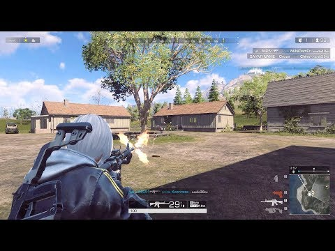 Ring of Elysium (Europa) - 1st CBT Test Max Settings 2k Video Rank 4 M4A1 Gameplay 2018
