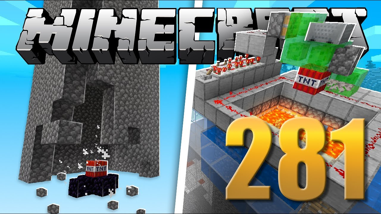 Mega Gerador de Cobblestone - Minecraft Em busca da casa automática #281