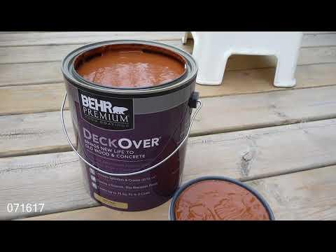 DIY: Paint The Deck