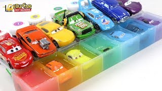 Learning Color Special Disney Pixar Cars Lightning McQueen Mack Truck jelly Play for kids car toys