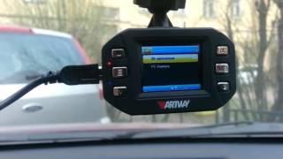 обзор видеорегистратора ARTWAY AV 338, часть 2