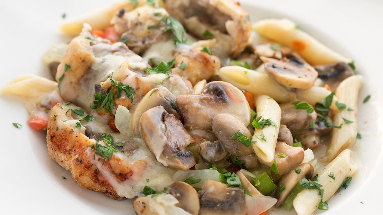 Recipes kulebyaki with mushrooms, chicken or meat