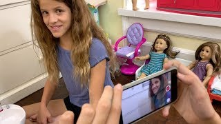 How to Make an American Girl Doll YouTube Video