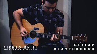 Pienso En Tí - Joss Favela & Becky G Guitar Playthrough