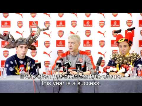 Arsene Wenger: SPOOF press conference for Save The Children