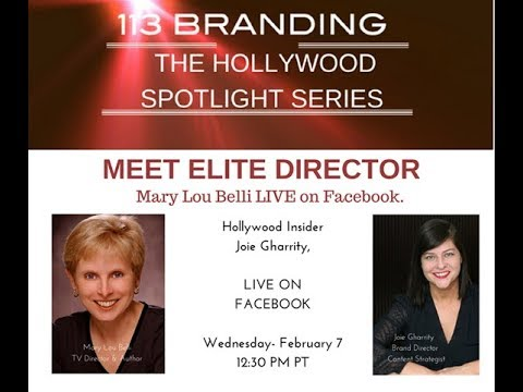 Meet Elite Hollywood Director Mary Lou Bell