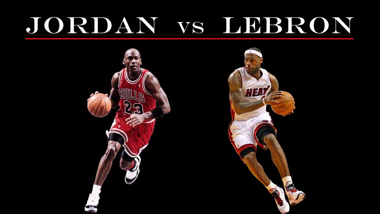 Jordan vs Lebron - The Best GOAT Comparison