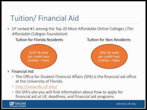 Webinar: UF Online Bachelor's Programs, Apr 30, 2015