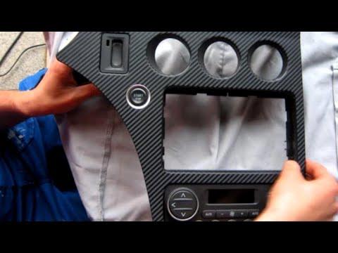 Alfa Romeo Mittelkonsole Carbon Folieren 159 Brera Spider