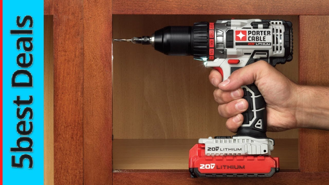 Best Cordless Drill 2020 5 Best Cordless Drill Reviews 2020   YouTube