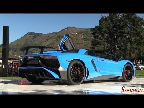Lamborghini Aventador SV Roadster: ¡ahora en vídeo!