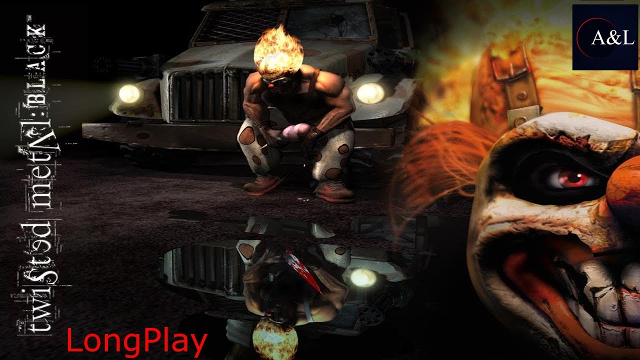 Ps2 twisted metal black sweet tooth playthrough 4k - Sweet tooth wallpaper twisted metal ...