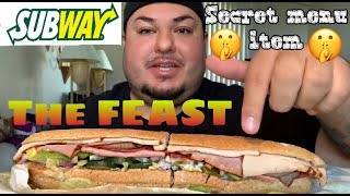 Subway's The FEAST Sub | Secret menu item | Tagged by Miguel