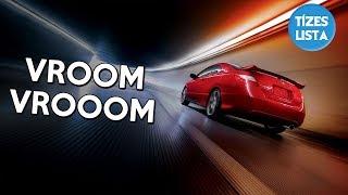 10 Elképesztő sebességrekord: Földön, vízen  levegőben