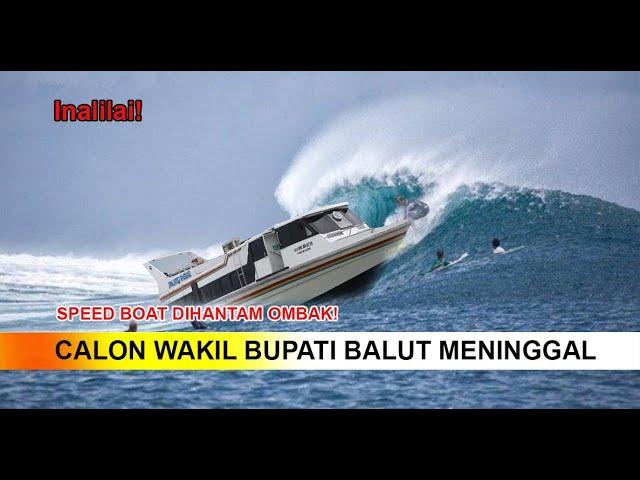 Speed Boat Terbalik di Laut Saat Akan Kampanye, Cawabup Meninggal!