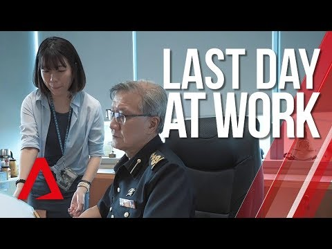 Last Day at Work: Singapore Civil Defence Force officer retires after 35 years