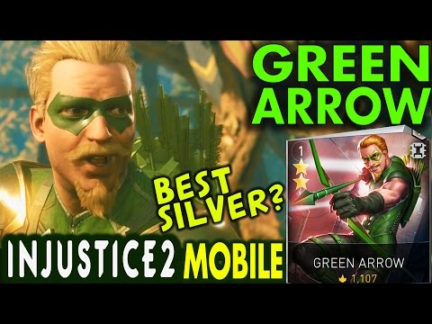 Injustice 2 Mobile: GREEN ARROW. Super move | Gameplay | Review. Android/IOS