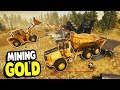Gold Mine UPDATES with NEW EQUIPMENT & big $$$$ | Gold Rush Gameplay