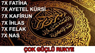 7× Fatiha|7× Ayatul Kursi|7× Kafiroon|7× Ikhlas|7× Falaq|7× Nas|Ruqyah-Sehr-EvIL-Magic-JiNN