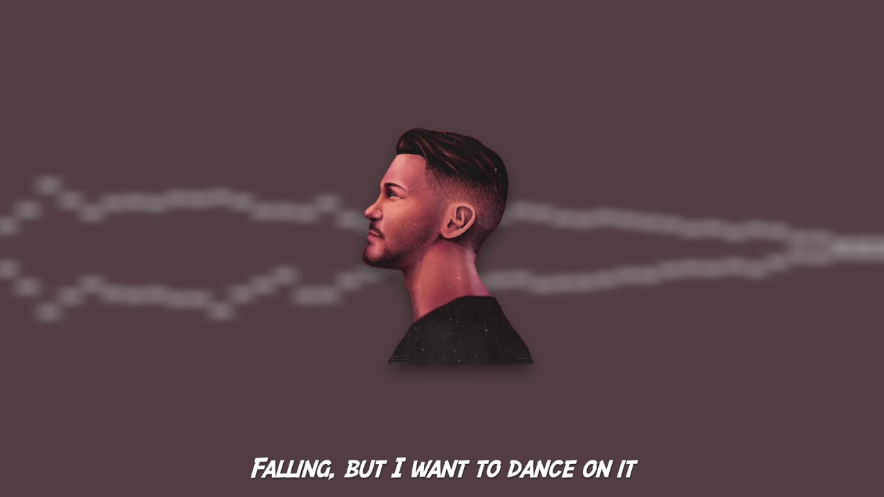 Falling, but I want to dance on it