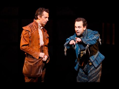 Something Rotten: Rob McClure, Josh Grisetti Sing I Hate Shakespeare\