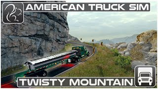 Twisty Mountain Pass - American Truck Simulator