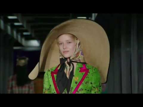 Gucci fashion house in Milan presented the 2017 collection