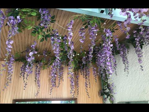 ROOM MAKEOVER | ARTIFICIAL FLOWER INSTALLATION