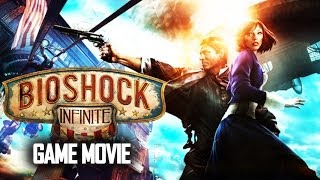 Bioshock Infinite Story (Complete Edition) All Cutscenes Game Movie 1080p HD