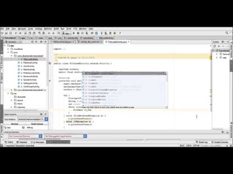 Getting Started In Android Development Part 36 - Loading A File With FileInputStream