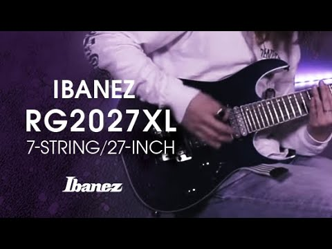 Ibanez RG2027XL Electric Guitar featuring YOUSEI YOU from Scarlet Horizon