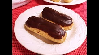 Chocolate Éclair Recipe - Easy French Classic Pastry - Episode #216