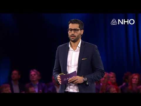 Javad Mushtaq, gründer MAK og Strategy Manager Aker Solutions på NHOs årskonferanse 2018