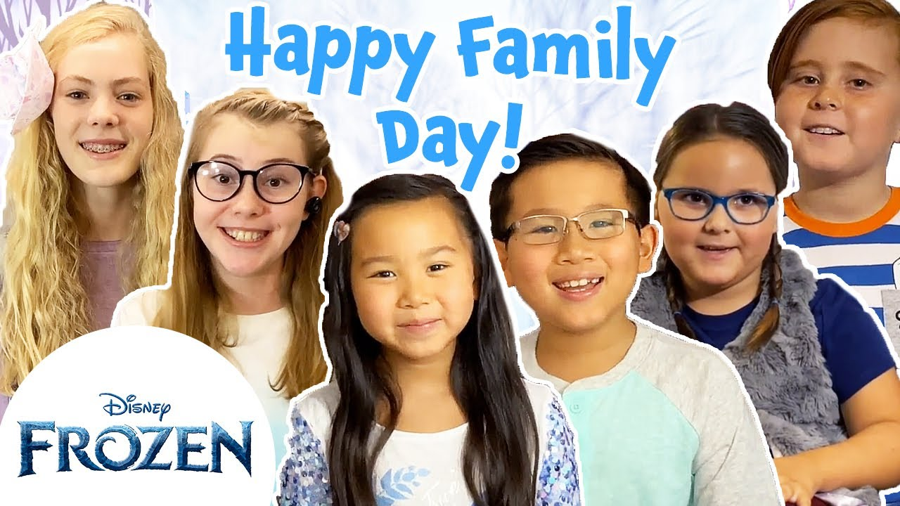 Meet Our Siblings! | Frozen Family Wisdom | Frozen Friends Club