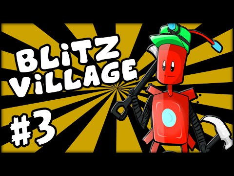 BLITZVILLAGE - Minecraft - Episode 3: AVENGERS Tower! (S2)