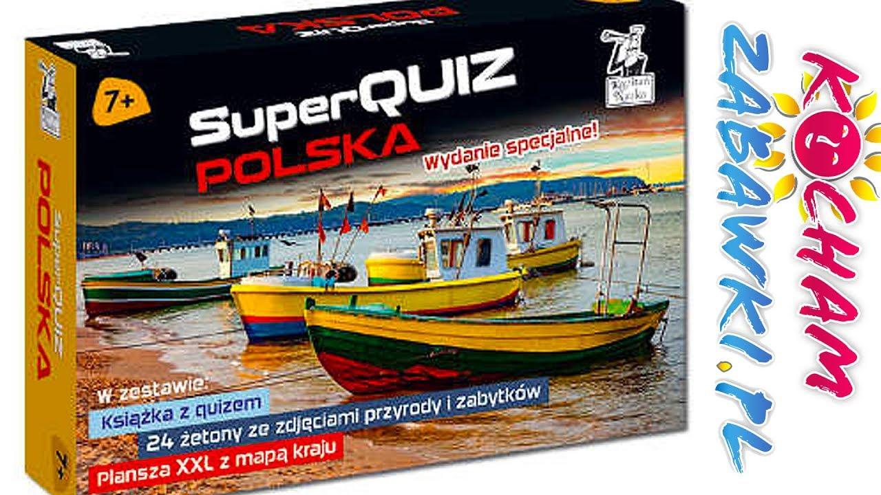 Superquiz Polska • Wydanie specjalne • Kapitan Nauka • gry dla dzieci