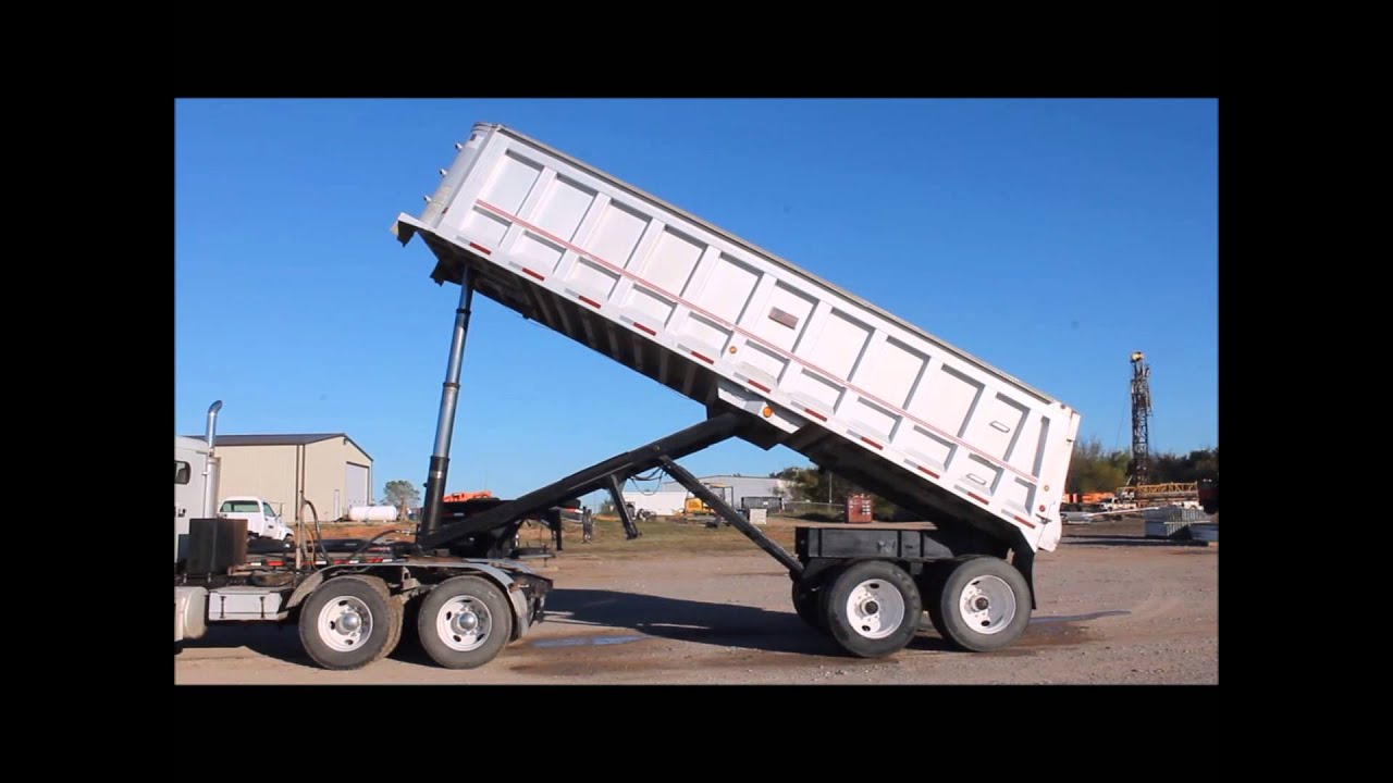 dump trailers for sale one wire driver 1998 travis t 102 27 end trailer sold at