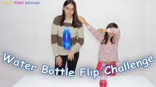 Su Şişesi Çevirme Yarışması - Water Bottle Flip Challenge - Eğlenceli Çocuk Videosu